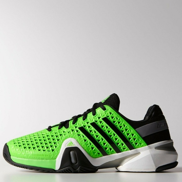 Adidas Mens Adipower Barricade 8 Tennis Shoes 15M